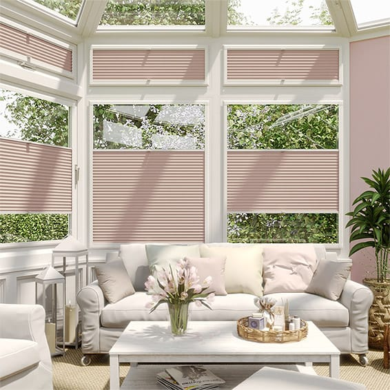PerfectFIT DuoLight Dusky Pink Thermal Blind