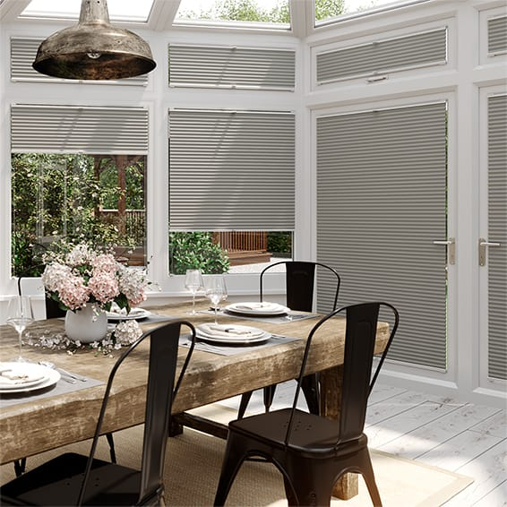 DuoLight Gainsboro Grey EasiFIT Thermal Blind