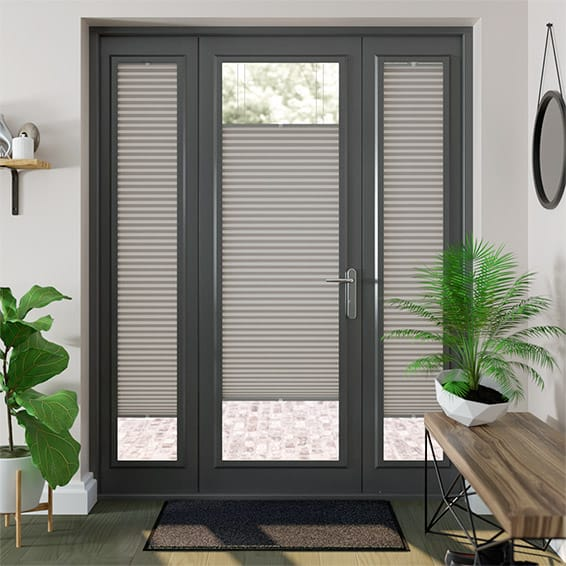 PerfectFIT DuoLight Gainsboro Grey Thermal Blind