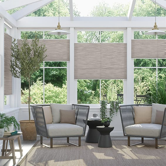 DuoLight Grain Fawn Top Down Bottom Up Thermal Blind