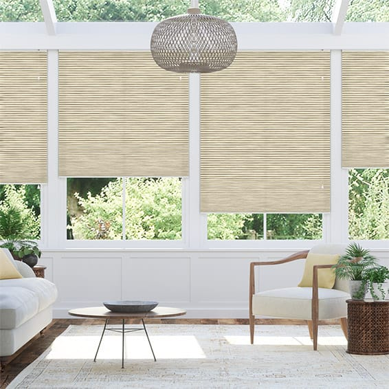 DuoLight Grain Parchment Thermal Blind