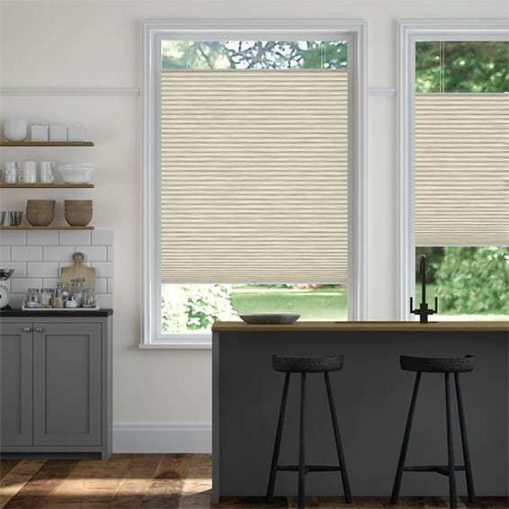 PerfectFIT DuoLight Grain Parchment Thermal Blind