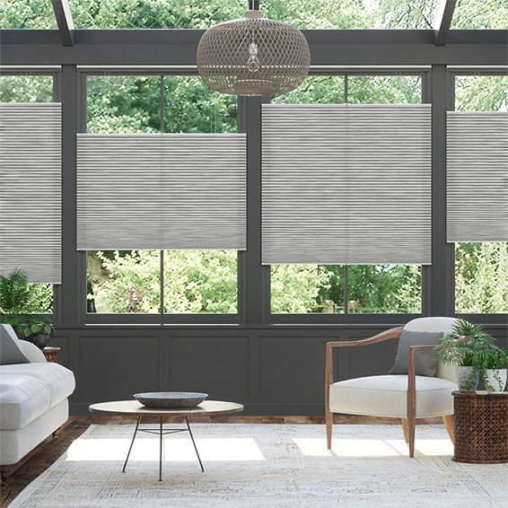 DuoLight Grain Urban Grey Top Down Bottom Up Thermal Blind