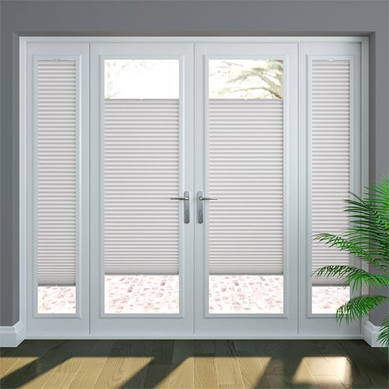 PerfectFIT DuoLight Grey Thermal Blind