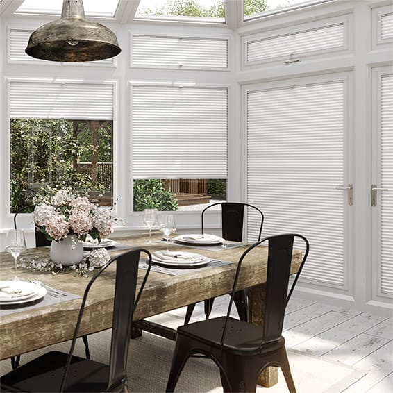 DuoLight Grey PerfectFIT Thermal Blind