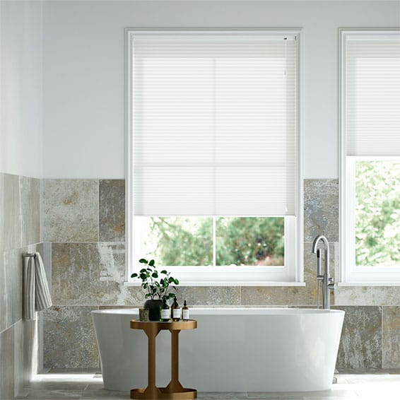 DuoLight Pristine White Thermal Blind