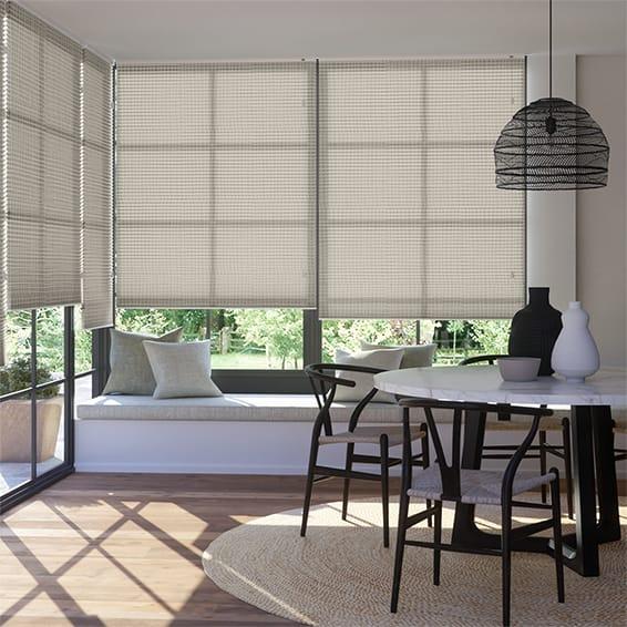 DuoLight Mosaic Warm Grey Thermal Blind