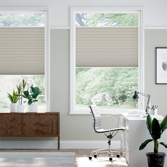PerfectFIT DuoLight Mosaic Warm Grey Thermal Blind