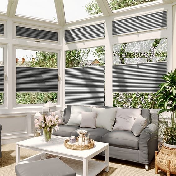 DuoLight Nickel Grey EasiFIT Thermal Blind
