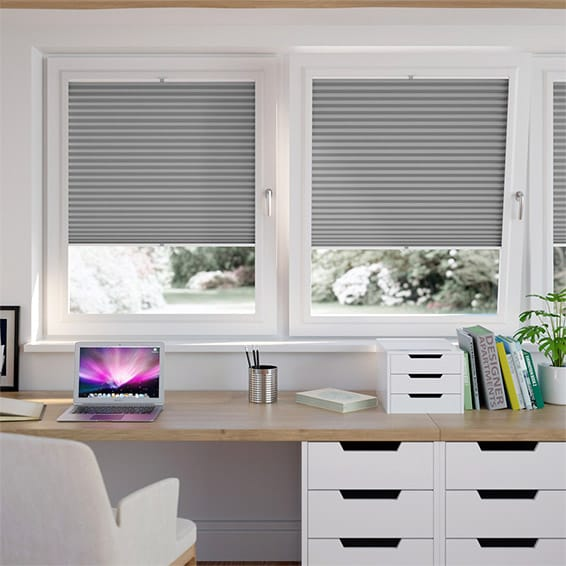 PerfectFIT DuoLight Nickel Grey Thermal Blind