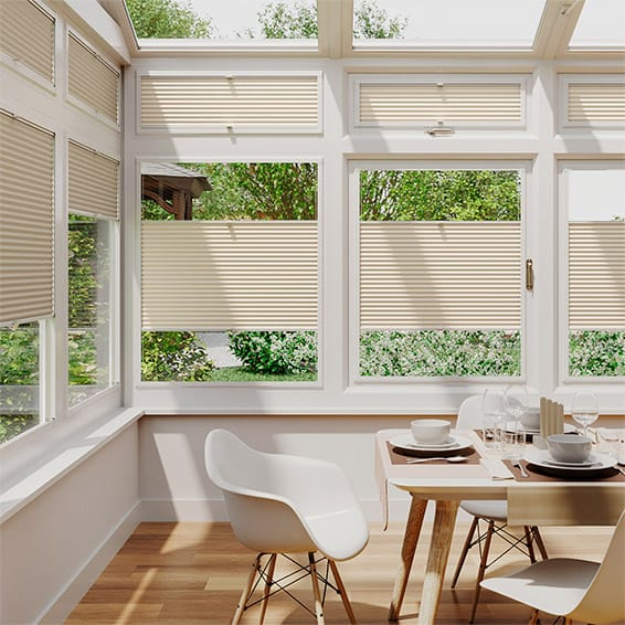 PerfectFIT DuoLight Wheat Thermal Blind