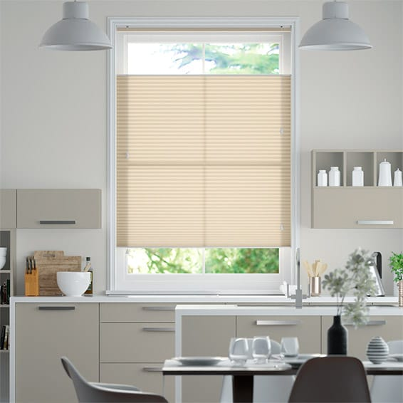 DuoLight Wheat  Top Down/Bottom Up Thermal Blind