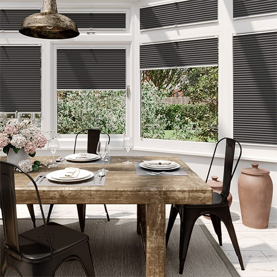 DuoShade Anthracite  EasiFIT Thermal Blind
