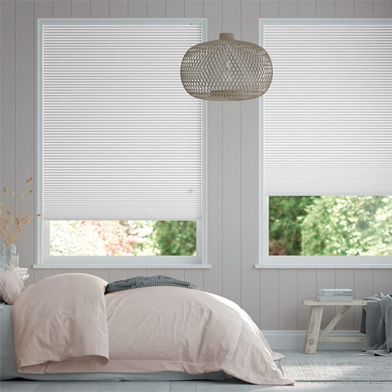 DuoShade Arctic White  Thermal Blind