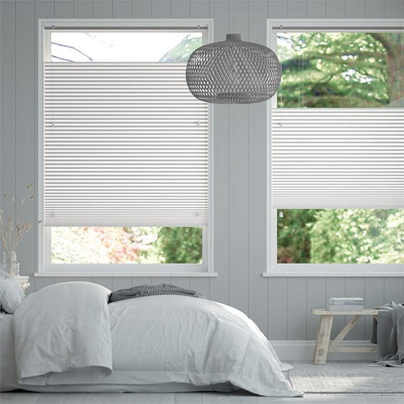 DuoShade Arctic White  Top Down/Bottom Up Thermal Blind