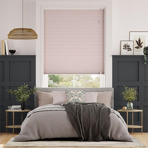 DuoShade Pink Blush Thermal Blind