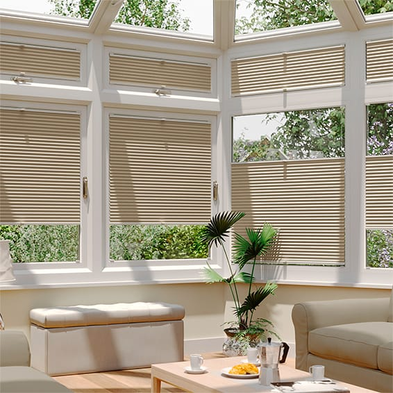 DuoShade Beige EasiFIT Thermal Blind