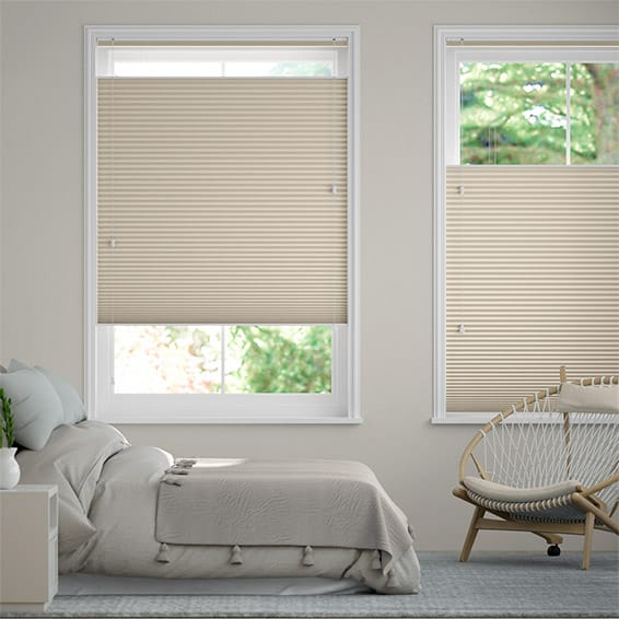 DuoShade Beige Top Down/Bottom Up Thermal Blind