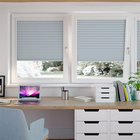 DuoShade Blue Haze PerfectFIT Thermal Blind