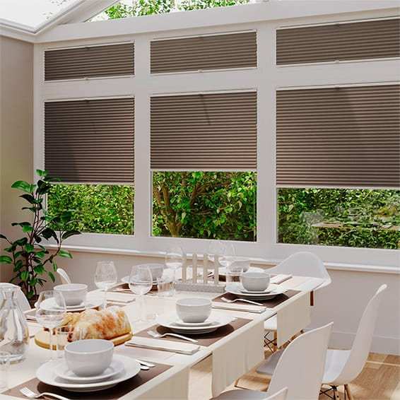 DuoShade Chocolate EasiFIT Thermal Blind