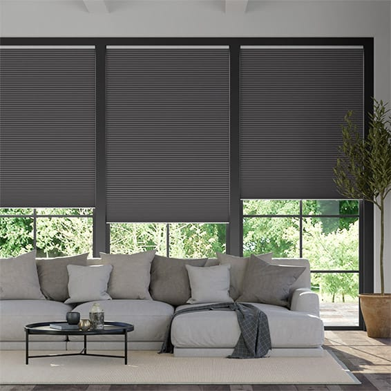 DuoShade Cordless Anthracite  Thermal Blind