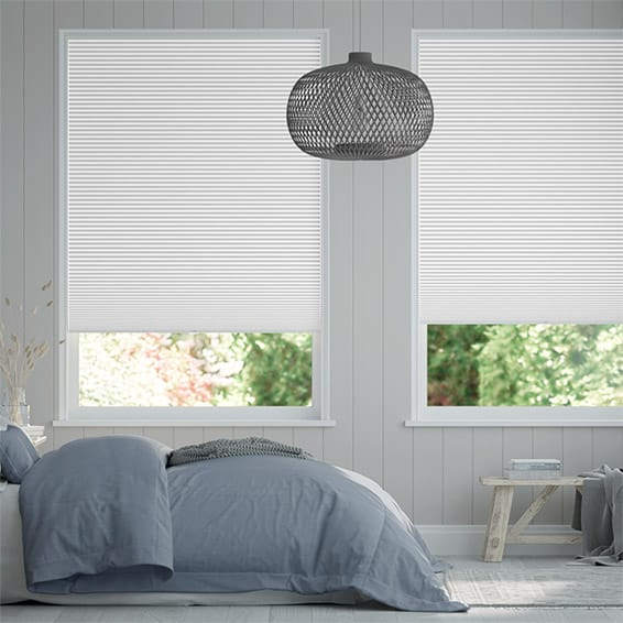 DuoShade Cordless Arctic White  Thermal Blind