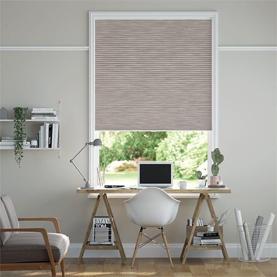 DuoShade Cordless Grain Fawn Thermal Blind