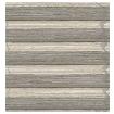 DuoShade Cordless Grain Fossil Grey Thermal Blind slat image