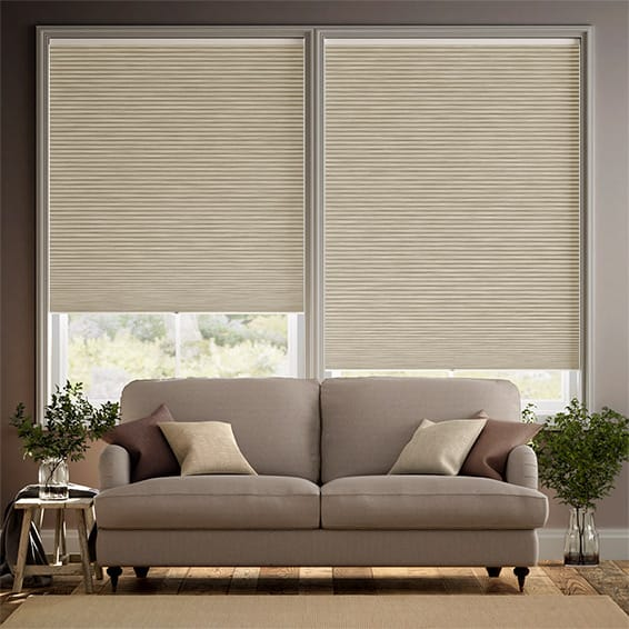 DuoShade Cordless Grain Parchment Thermal Blind