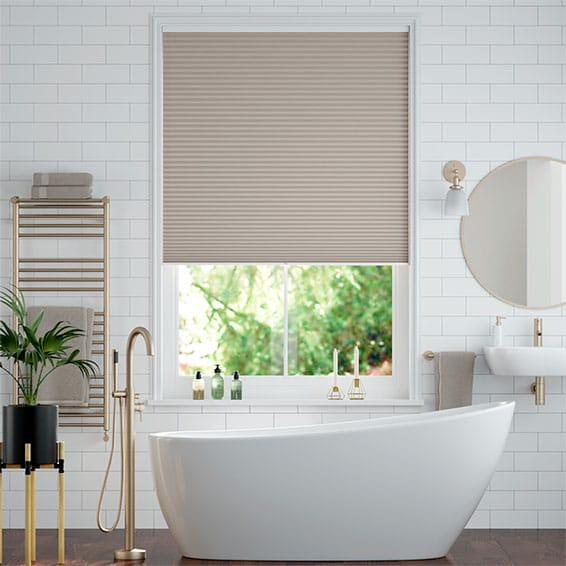 DuoShade Cordless Mushroom  Thermal Blind