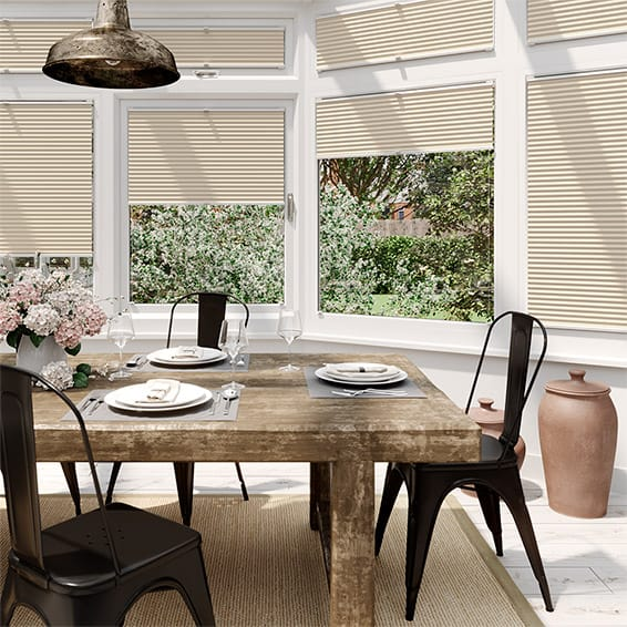 DuoShade Cornsilk  EasiFIT Thermal Blind
