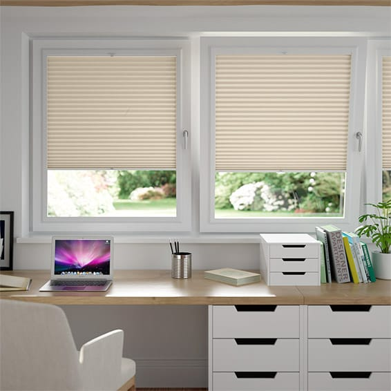 DuoShade Cornsilk  PerfectFIT Thermal Blind