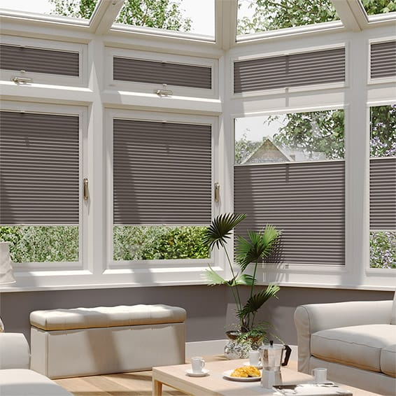 PerfectFIT DuoShade Dark Grey Thermal Blind