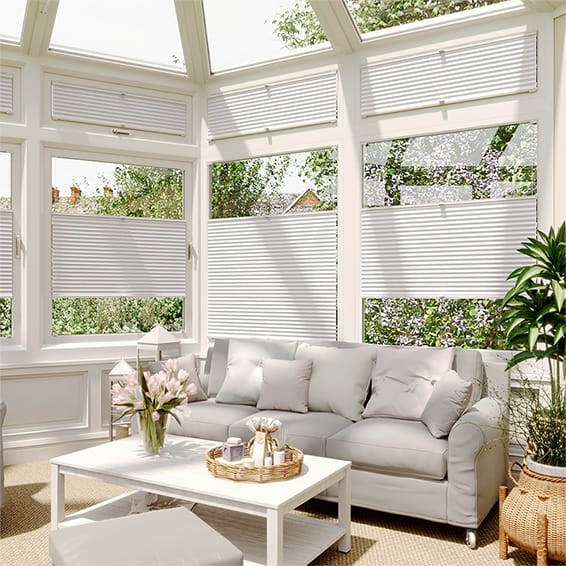 DuoShade White Dove EasiFIT Thermal Blind
