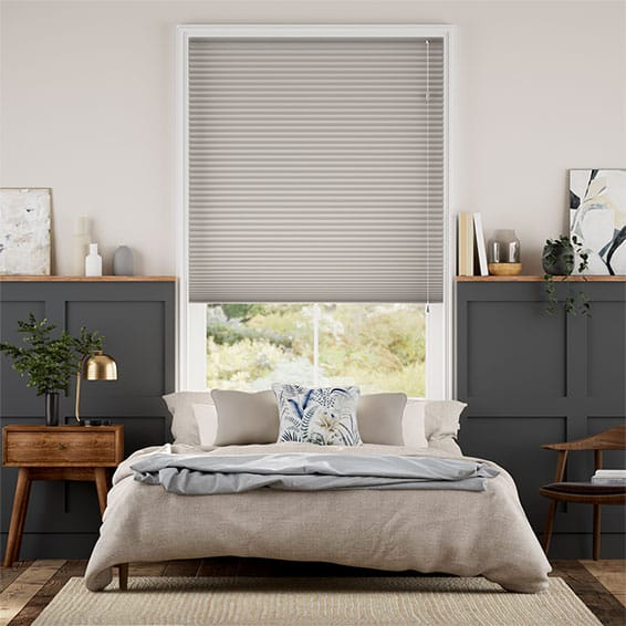 DuoShade Gainsboro Grey Thermal Blind