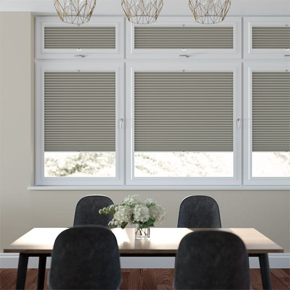 PerfectFIT DuoShade Gainsboro Grey Thermal Blind