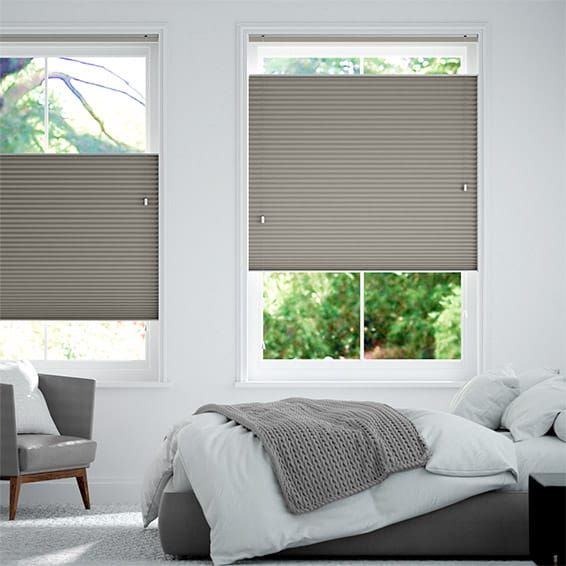 DuoShade Gainsboro Grey Top Down/Bottom Up Thermal Blind