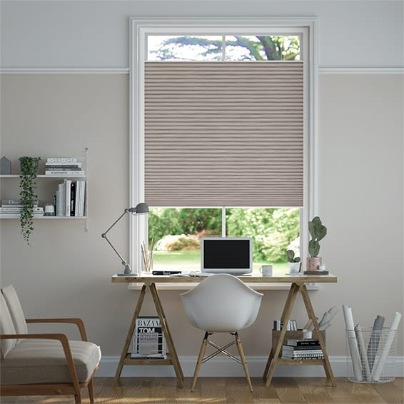 PerfectFIT DuoShade Grain Fawn Thermal Blind