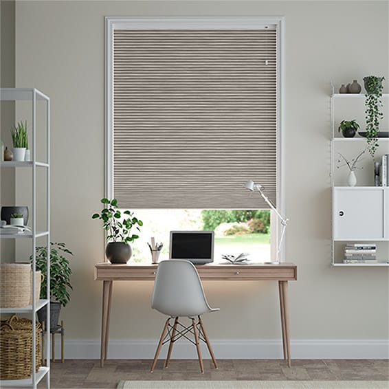 DuoShade Grain Fossil Grey Thermal Blind