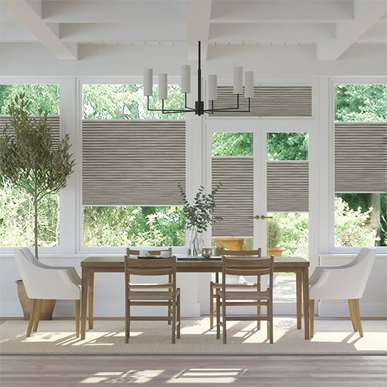 DuoShade Grain Fossil Grey EasiFIT Thermal Blind
