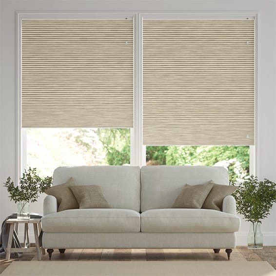 DuoShade Grain Parchment Thermal Blind
