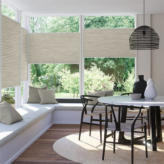 DuoShade Grain Parchment EasiFIT Thermal Blind