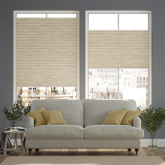 PerfectFIT DuoShade Grain Parchment Thermal Blind