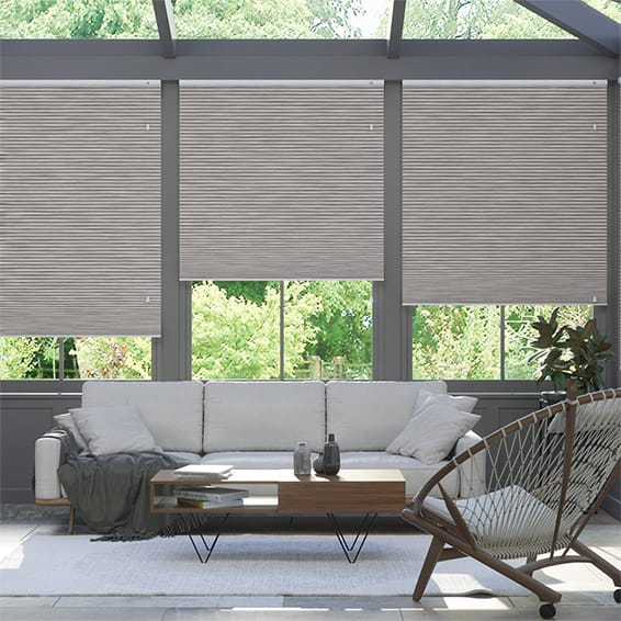 DuoShade Grain Urban Grey Thermal Blind