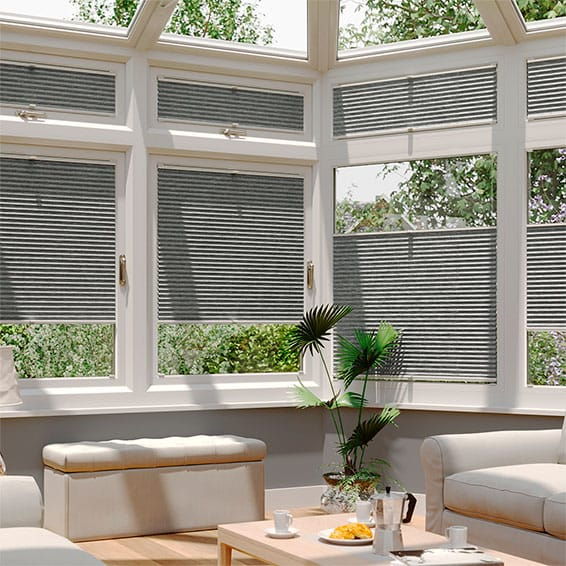 DuoShade Graphite EasiFIT Thermal Blind