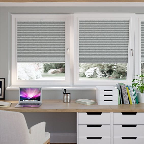 PerfectFIT DuoShade Graphite Thermal Blind