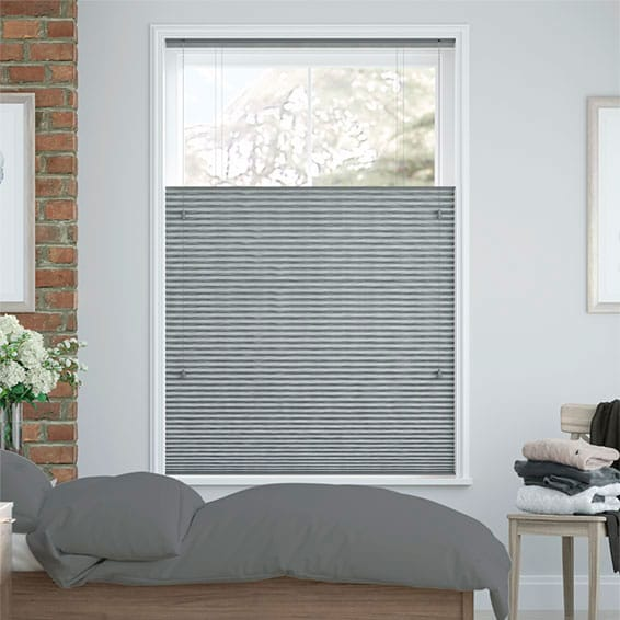 DuoShade Graphite Top Down/Bottom Up Thermal Blind