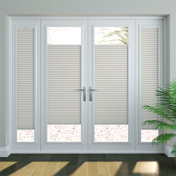 PerfectFIT DuoShade Grey Thermal Blind