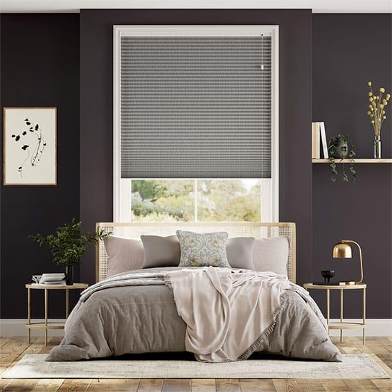 DuoShade Grey Weave Thermal Blind