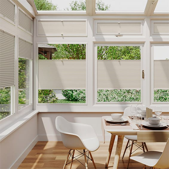 DuoShade Ivory  Thermal Blind